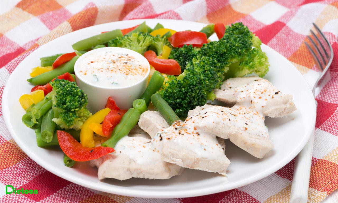 روش پخت صحیح مرغ در رژیم غذایی