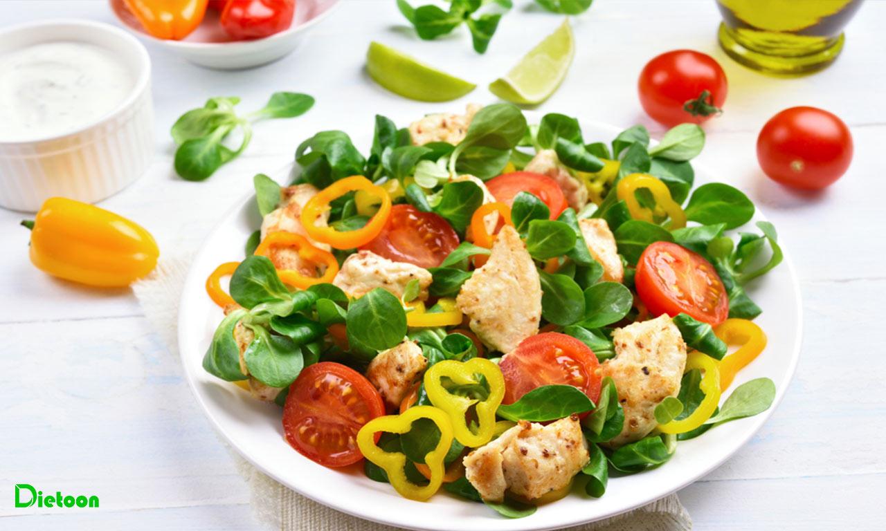 سبزیجات در مواد غذایی