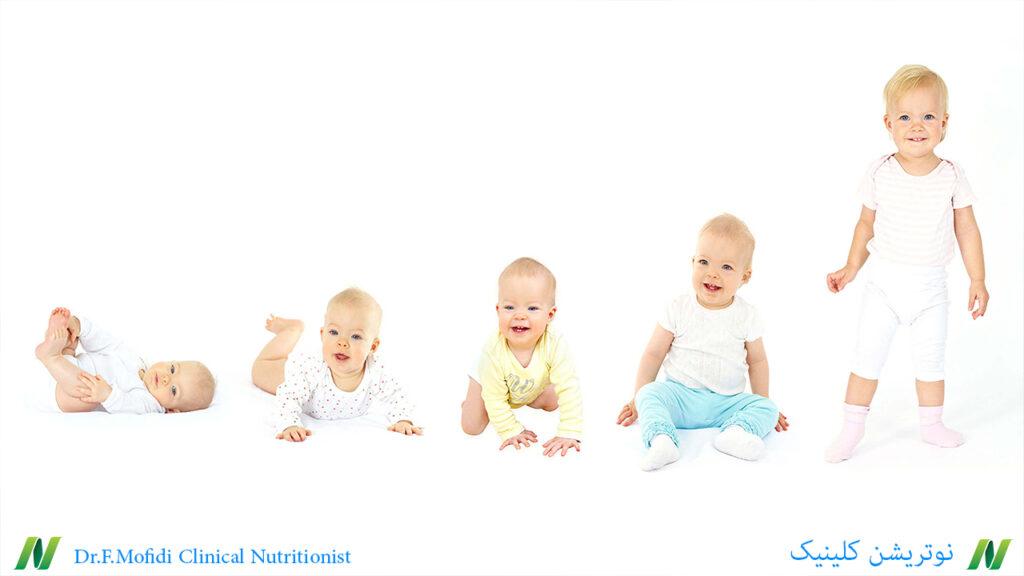 تغذیه در دوران کودکی: