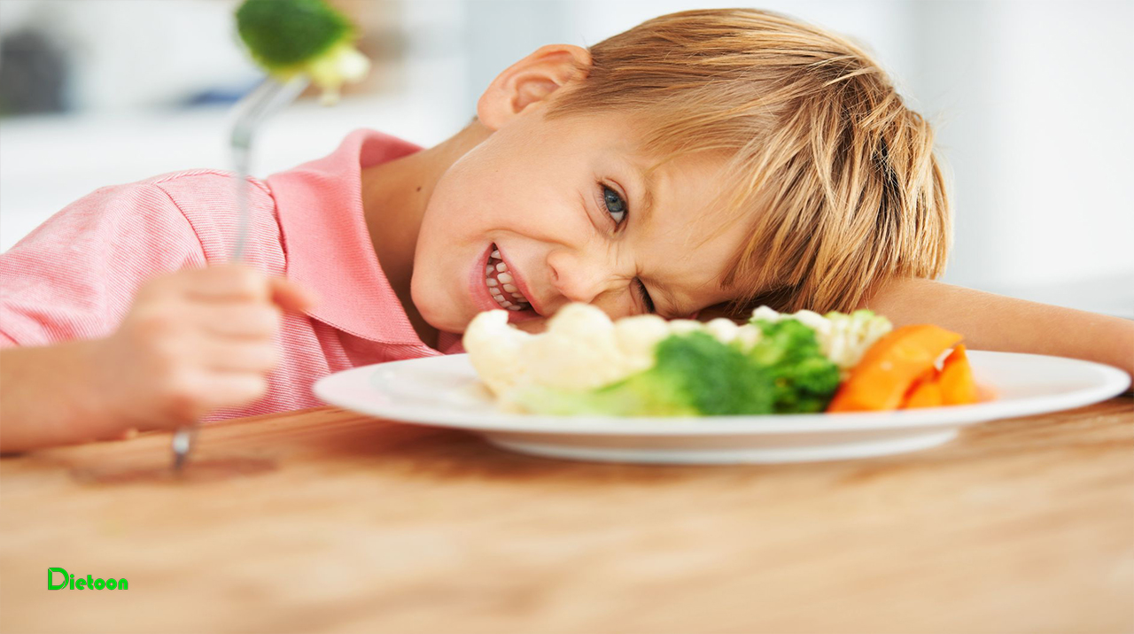رفع بدغذایی کودک نوپا با تهیه غذاهای ساده