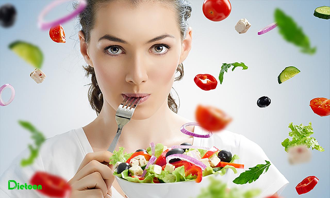 مصرف فیبر در رژیم غذایی