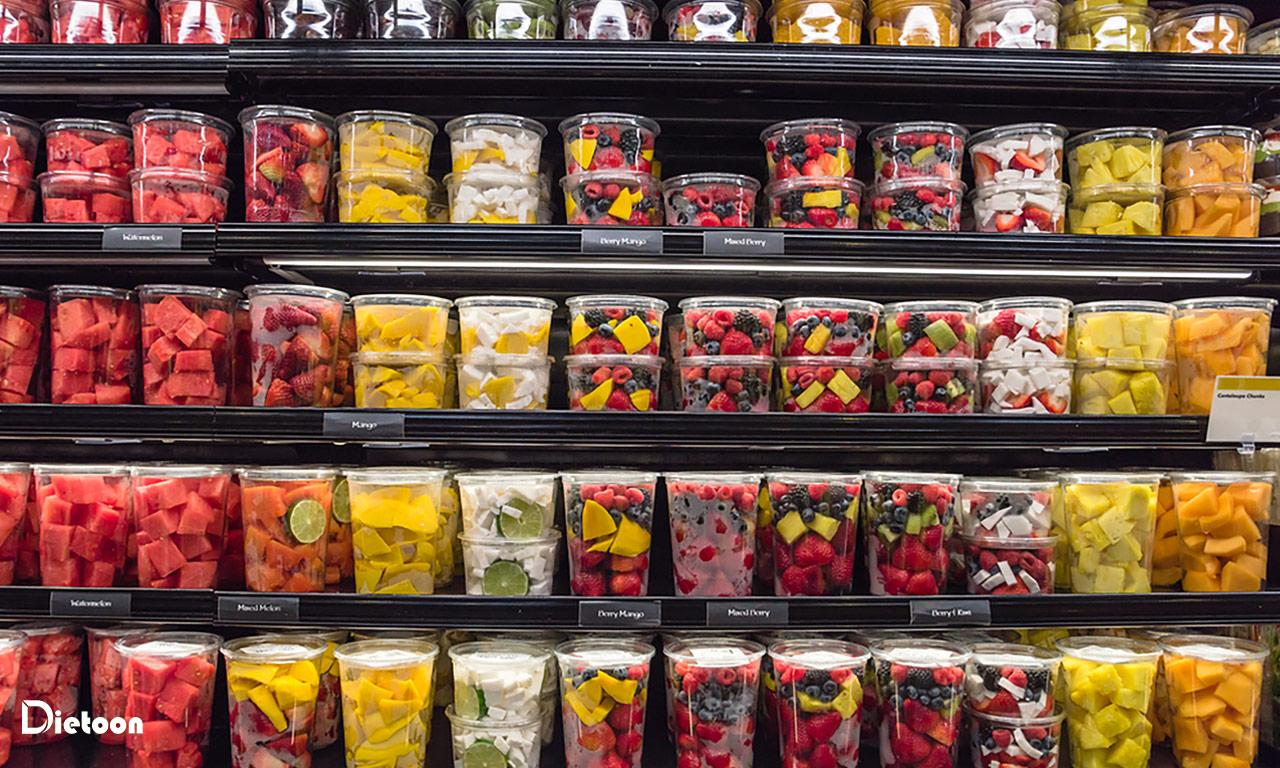 در مورد مواد غذایی از قبل بسته بندی شده آگاه باشید