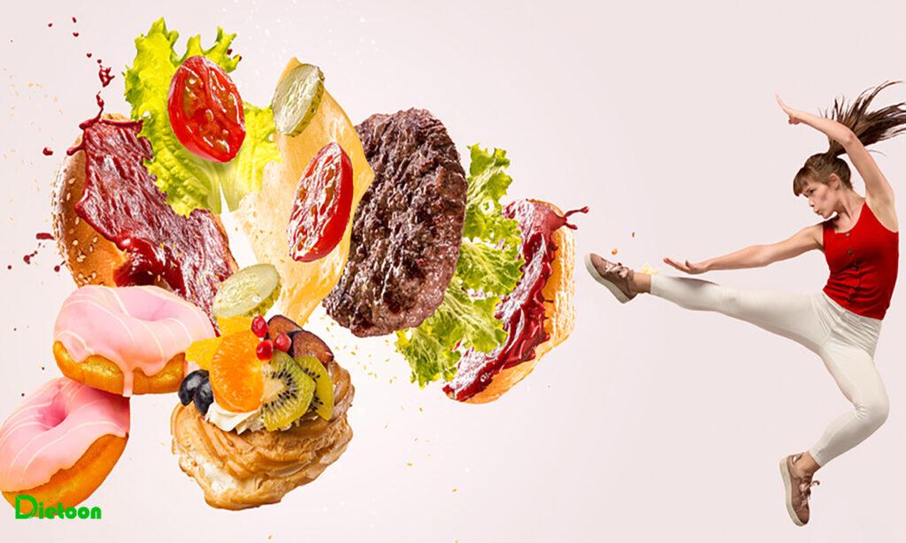 هوس های غذایی و راه های مقابله با آنها
