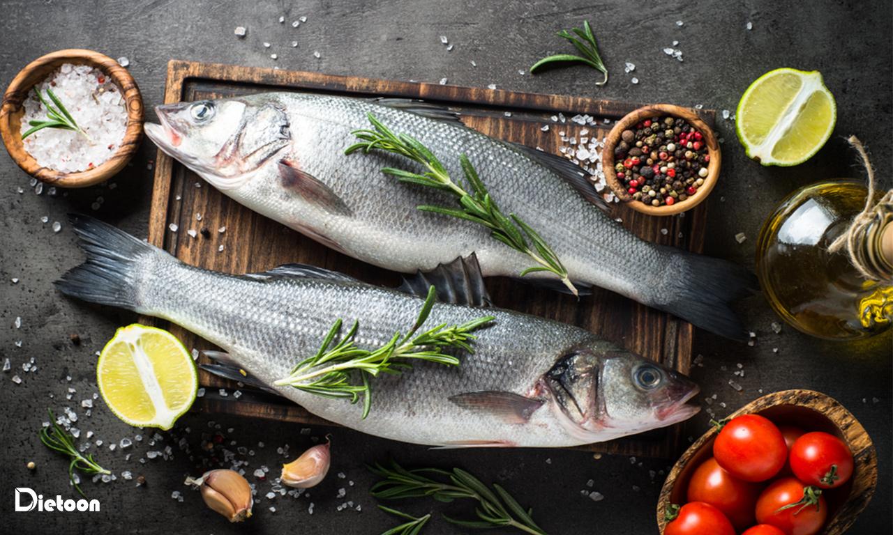 سرطان روده بزرگ و درمان با ماهی سالمون