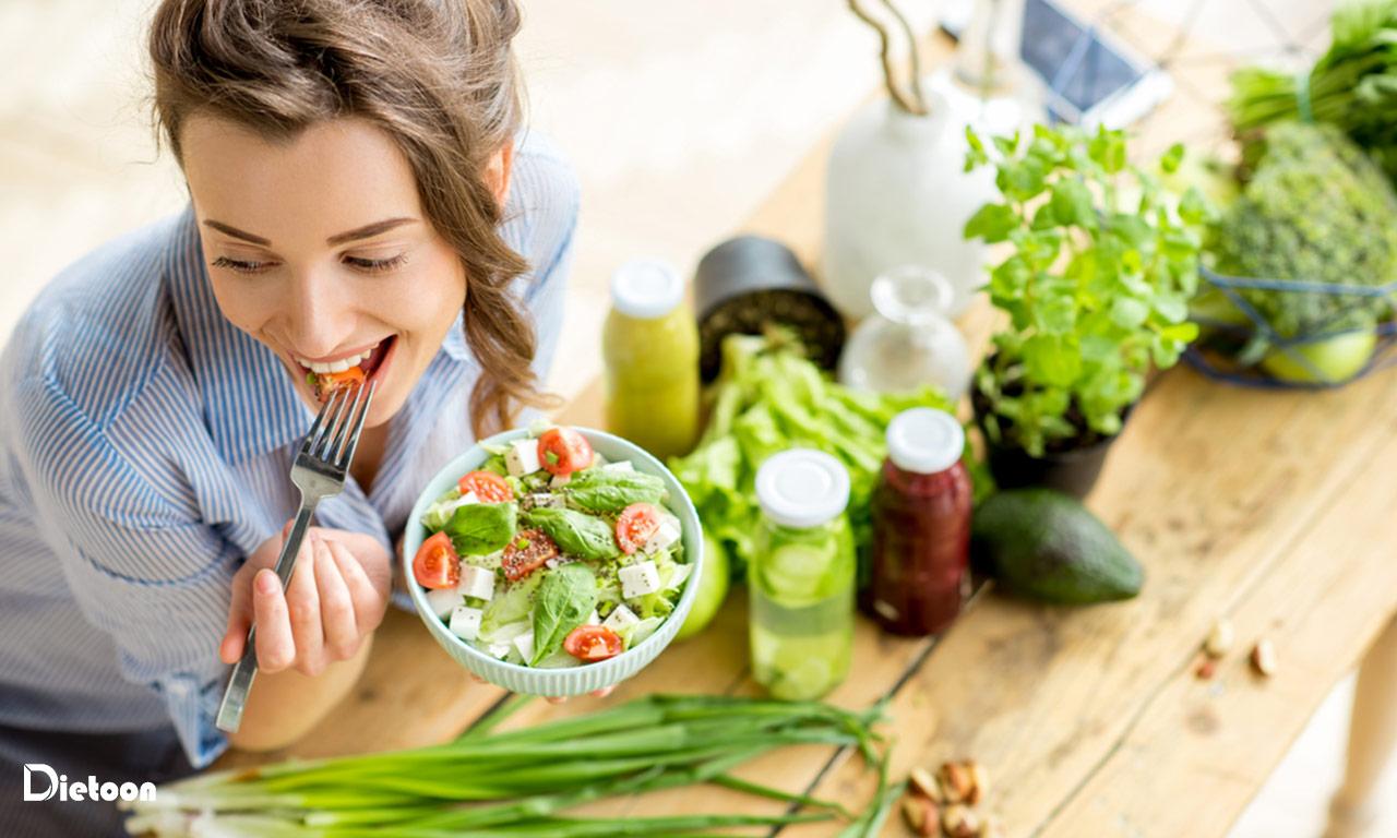تأثیر رژیم غذایی زون در کاهش وزن