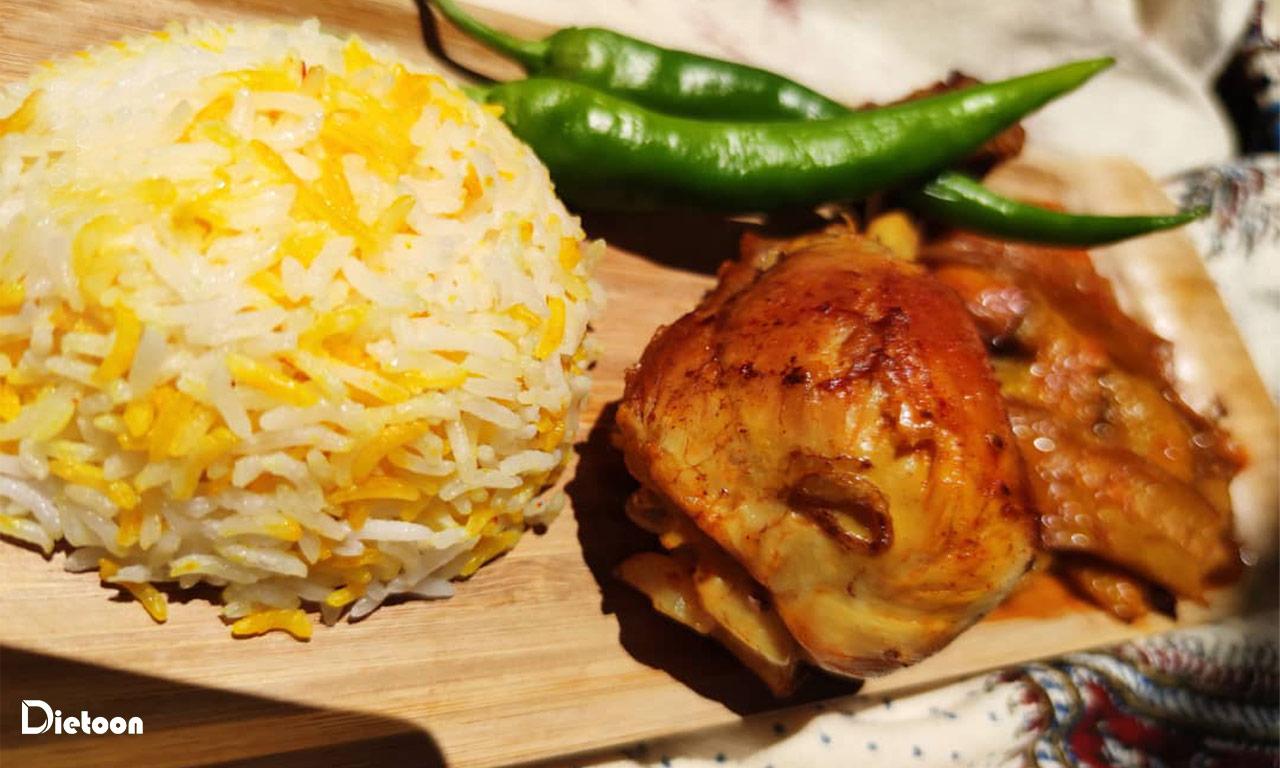 طرز تهیه ی زرشک پلو با مرغ مدیترانه ای