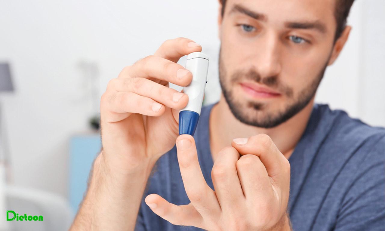 در دیابت نوع ۱ علائمی که کمتر بین دو نوع دیابت مشترک هستند