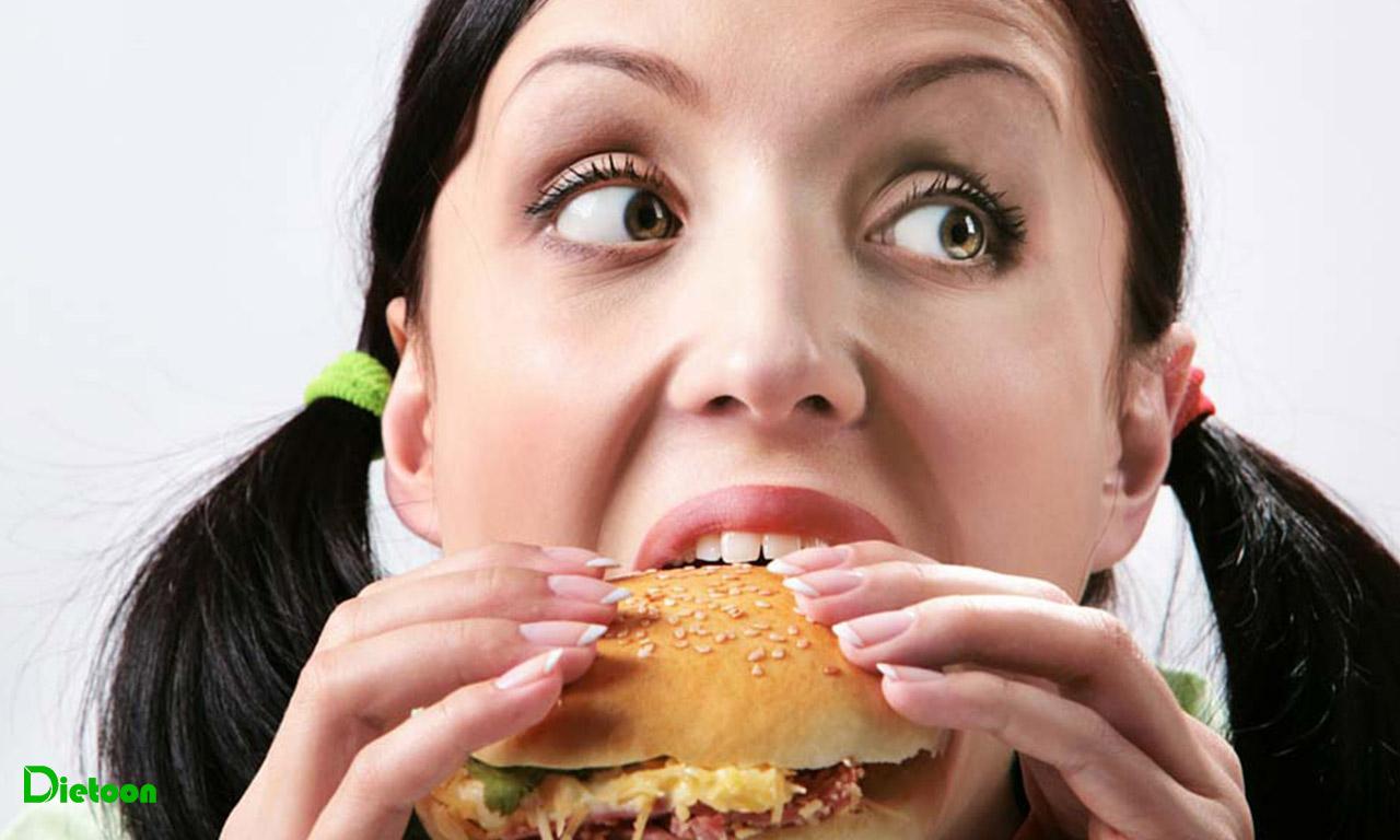 استرس و خوردن احساسی غذا