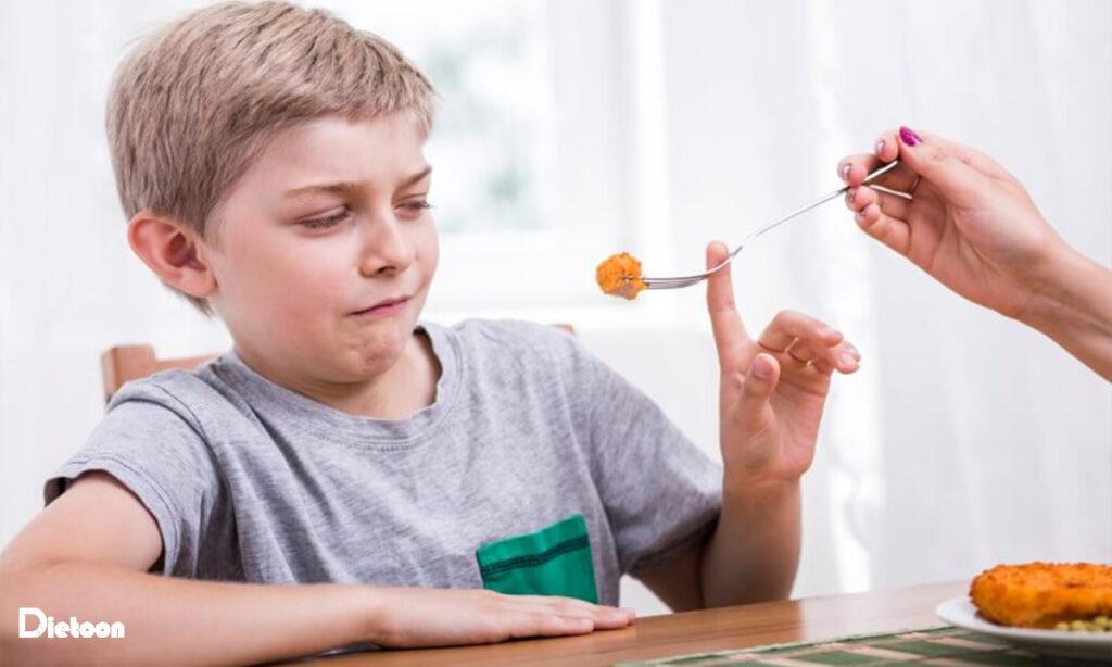 کودکانی که گوشت نمی خورند