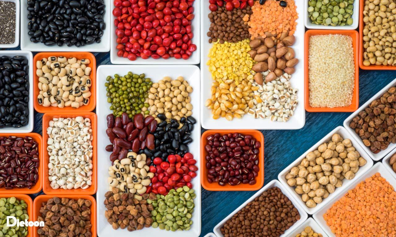 از انواع مختلف پروتئین استفاده کنید