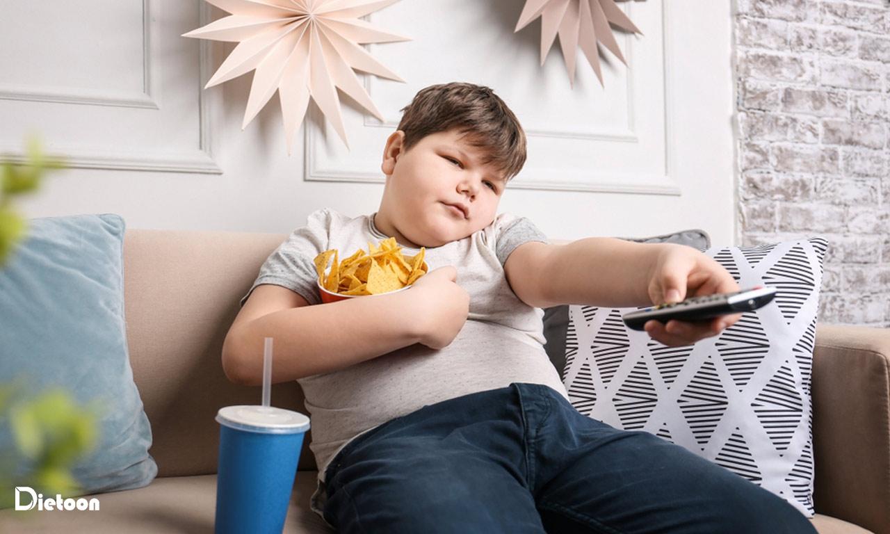 سبب شناسی چاقی در کودکان