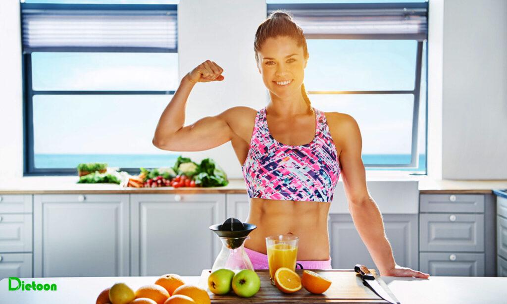 تغذیه ورزشکاران از زاویه چهار گروه اصلی غذایی