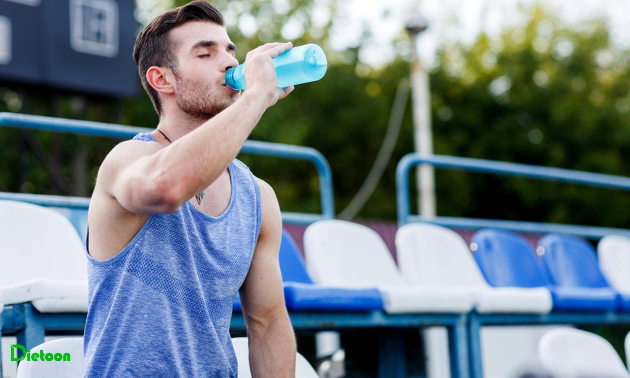نیازمندی آب در ورزشکاران