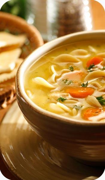 سوپ هویج و سیب زمینی