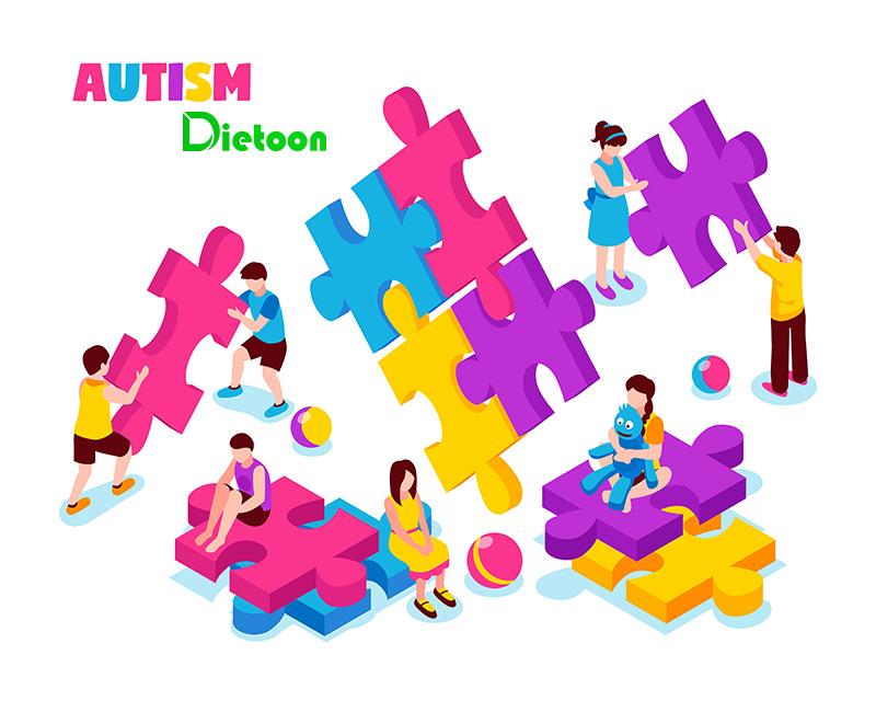 رژیم غذایی کودکان اوتیسم