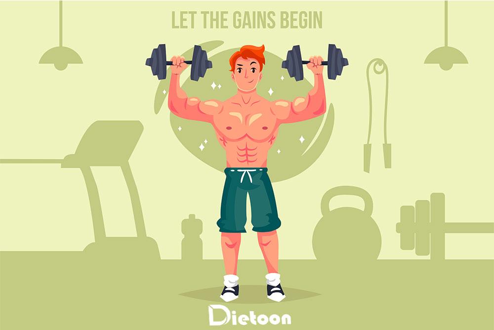 رژیم عضله سازی