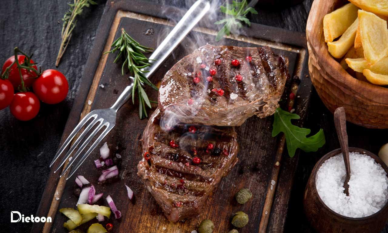 گوشت یک پروتئین کامل است