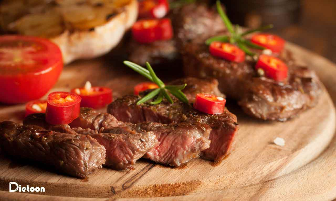 گوشت گوسفندی در طب سنتی
