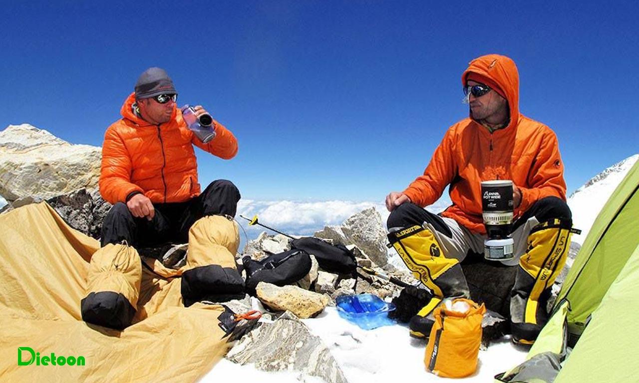 کوهنوردان چرا زود خسته می شوند