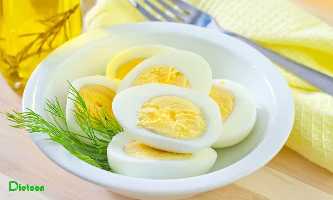 تخم مرغ را غنی سازی کنیم