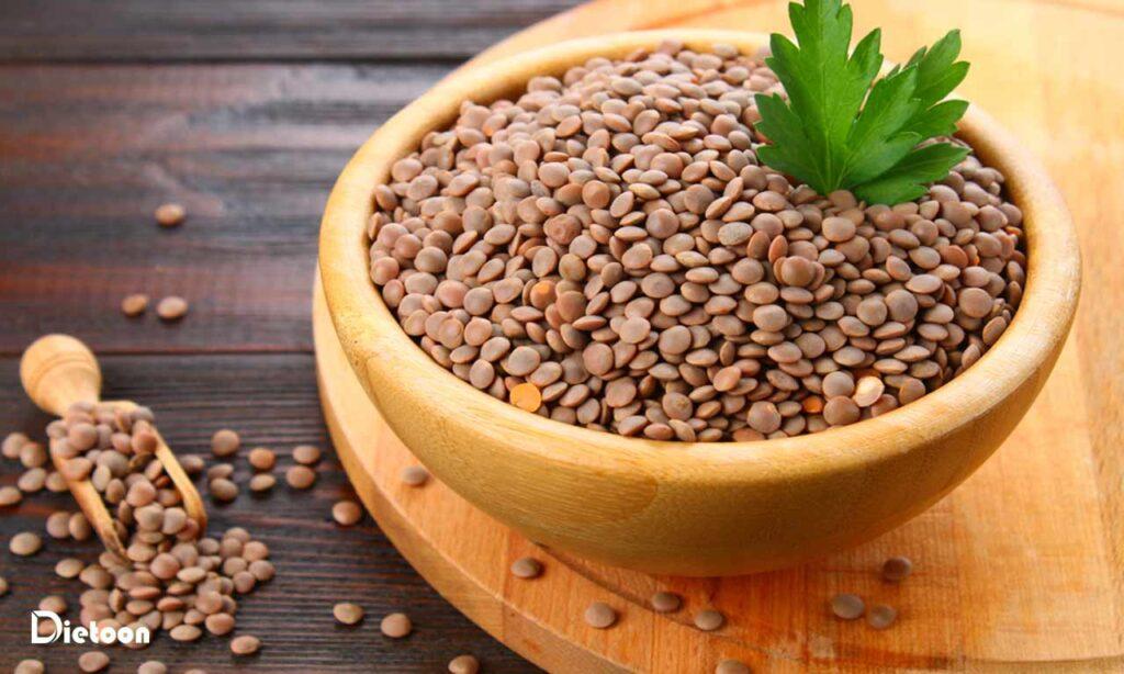 عدس از سالمترین غذاهای دنیا