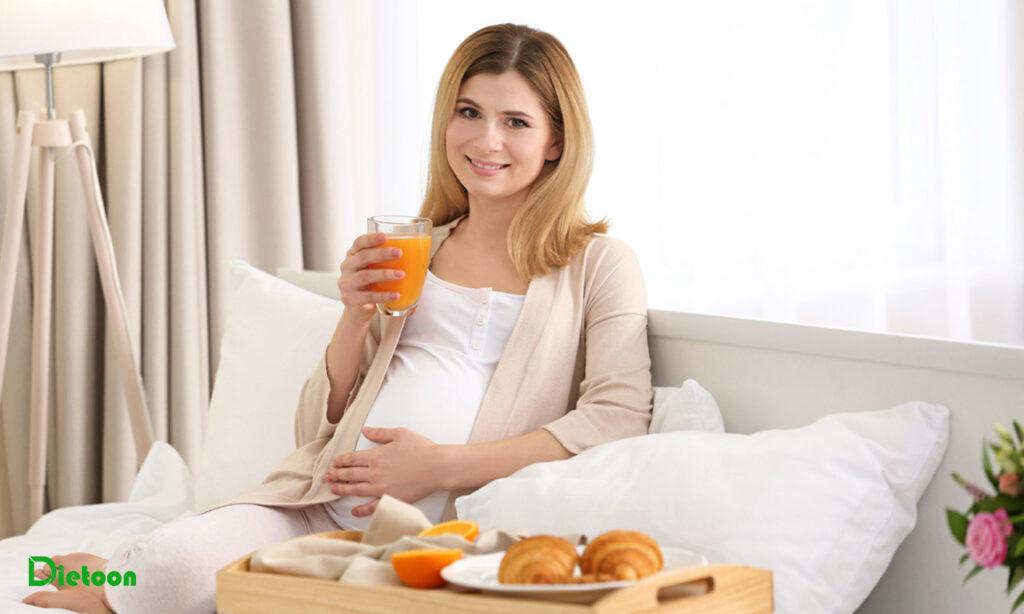 رژیم غذایی سالم در سه ماهه اول بارداری