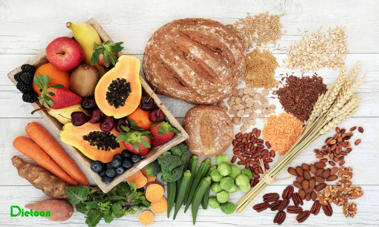 سرطان روده بزرگ و فیبرهای غذایی