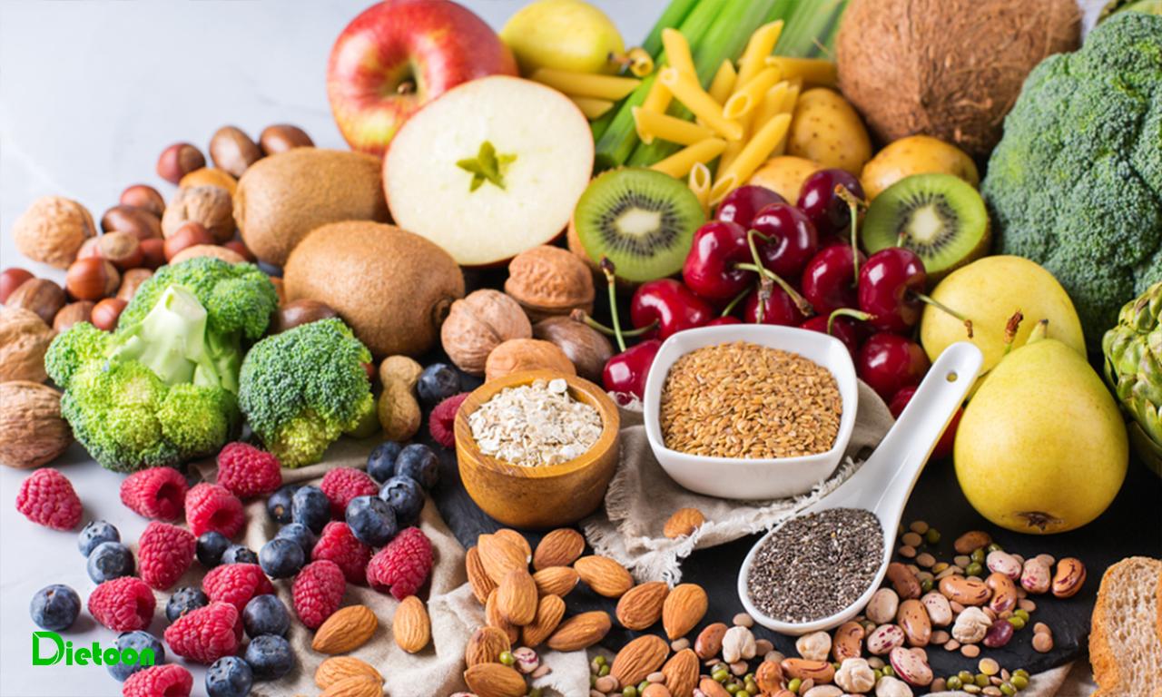 بهترین منابع غذایی فیبر کدامند؟