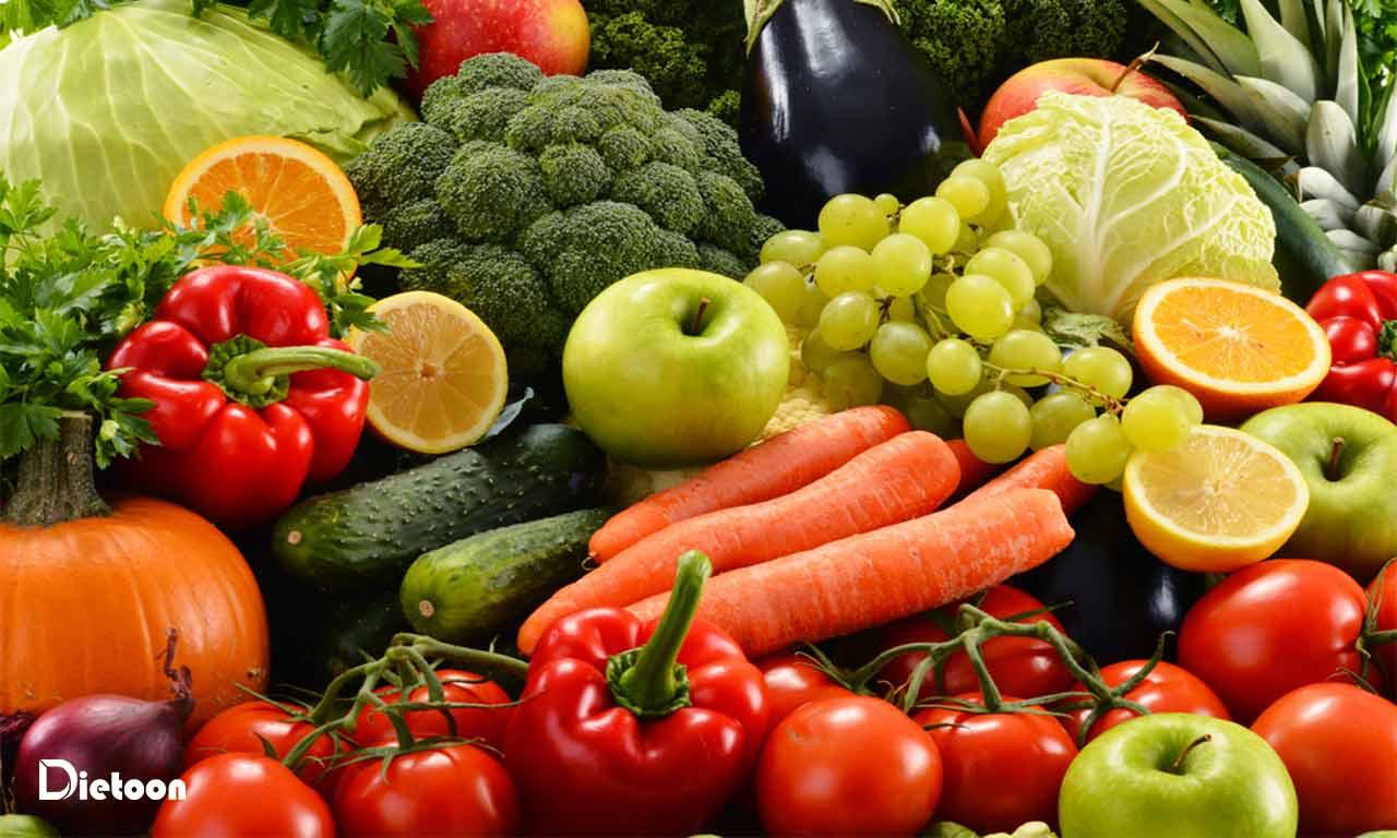 سرطان روده بزرگ و نقش میوه ها و سبزیجات