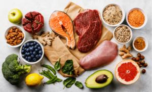 انواع غذاهای سالم