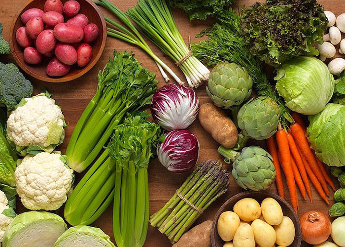 سبزیجات برگ سبز ضروری برای بدن